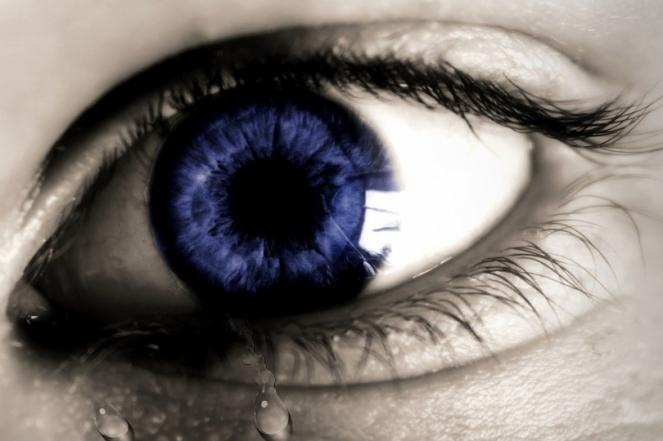 Cry Human Sad Expression Sadness Eye Tear