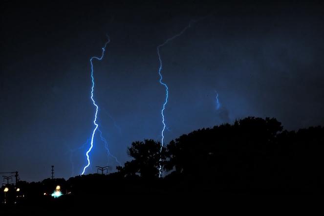 Storm Nature Lightning Weather Thunder Stormy