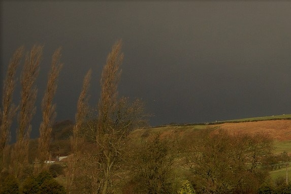 Yorkshire England Lonely House Landscape
