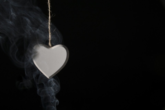 Love Heart Romanticism Valentine's Day Smoke
