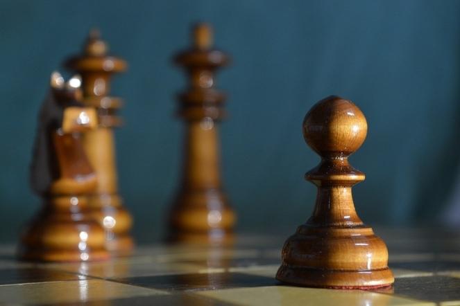 Pawn Board Black Royal Knight Chess Bishop White