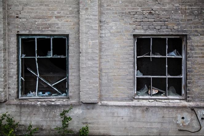 Factory Abandoned Broken Windows Destruction